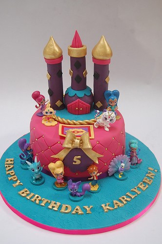 Shimmer And Shine Birthday Cake  Shimmer and Shine Cake – Beautiful Birthday Cakes