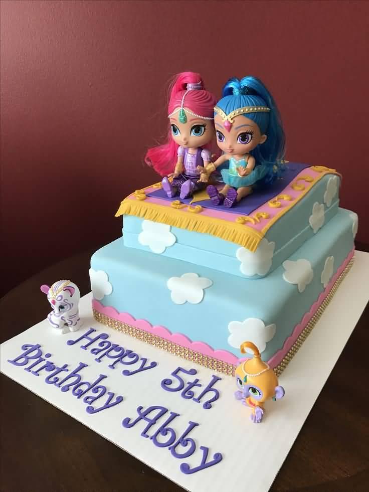 Shimmer And Shine Birthday Cake  21 Best Shimmer and Shine Birthday Cake Ideas