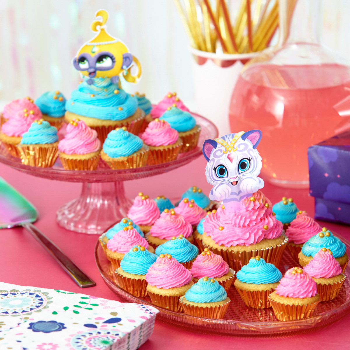 Shimmer And Shine Birthday Cake  Plan a Shimmer and Shine Birthday Party