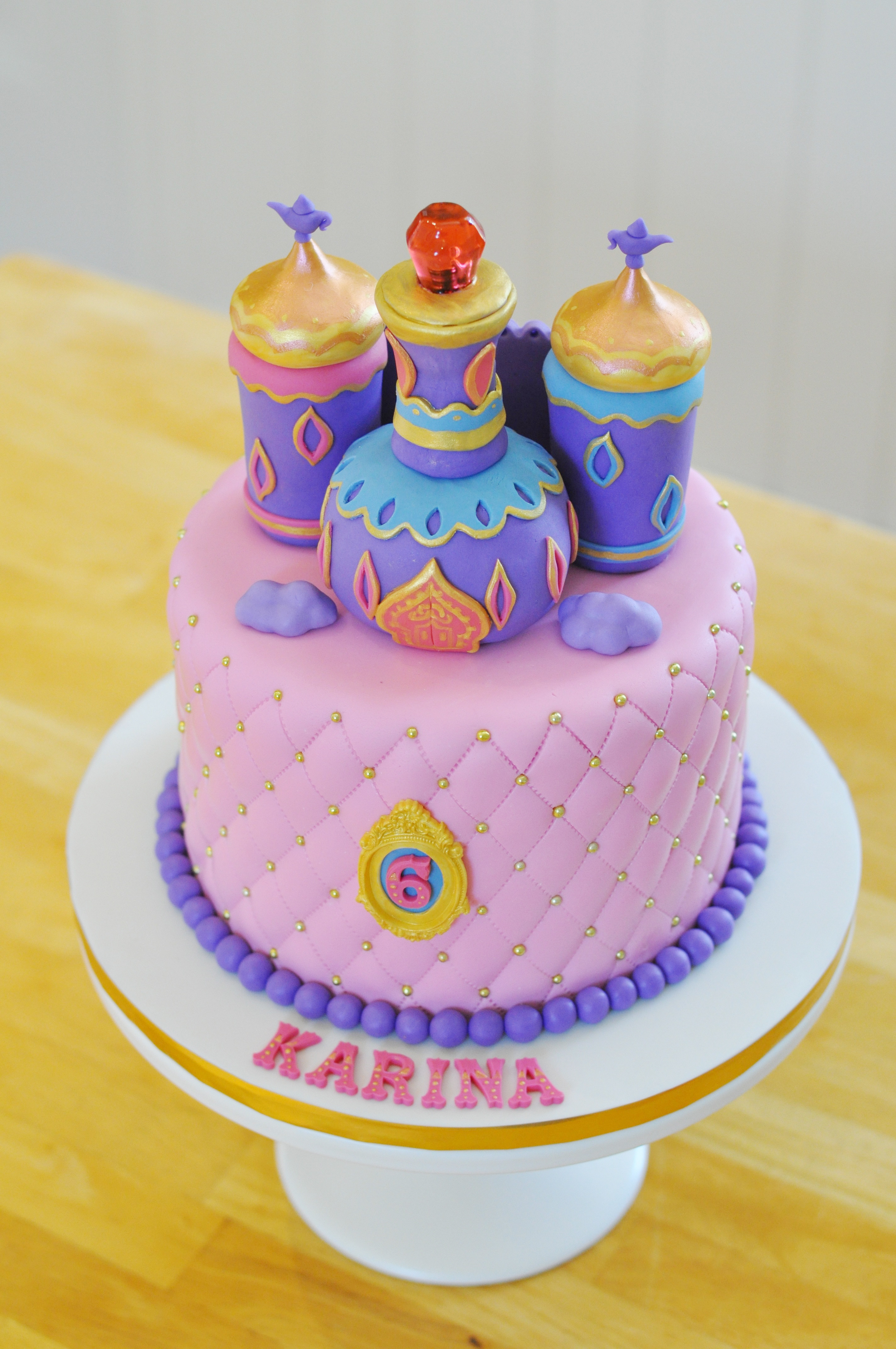 Shimmer And Shine Birthday Cake  Yvonne Chan Cakes