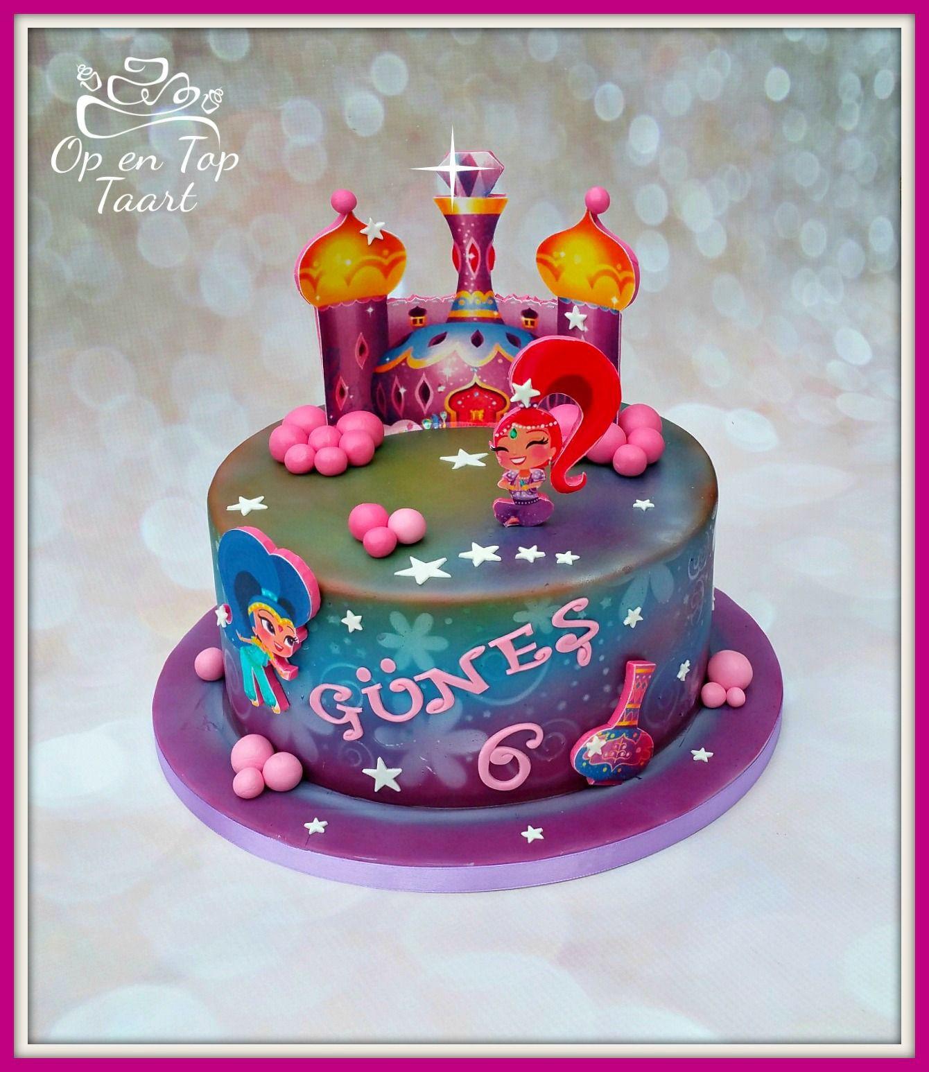 Shimmer And Shine Birthday Cake  Shimmer & Shine Birthday Cake