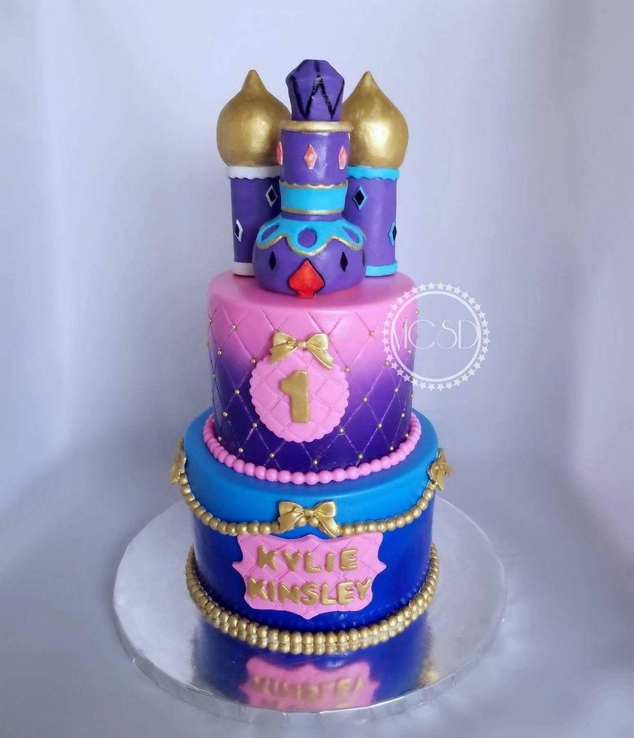 Shimmer And Shine Birthday Cake  Shimmer & Shine 1St Birthday Cake CakeCentral