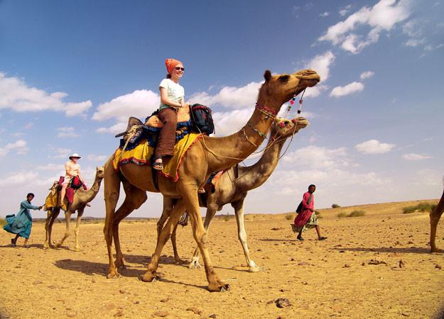 Ships Of The Dessert  Camel Safari