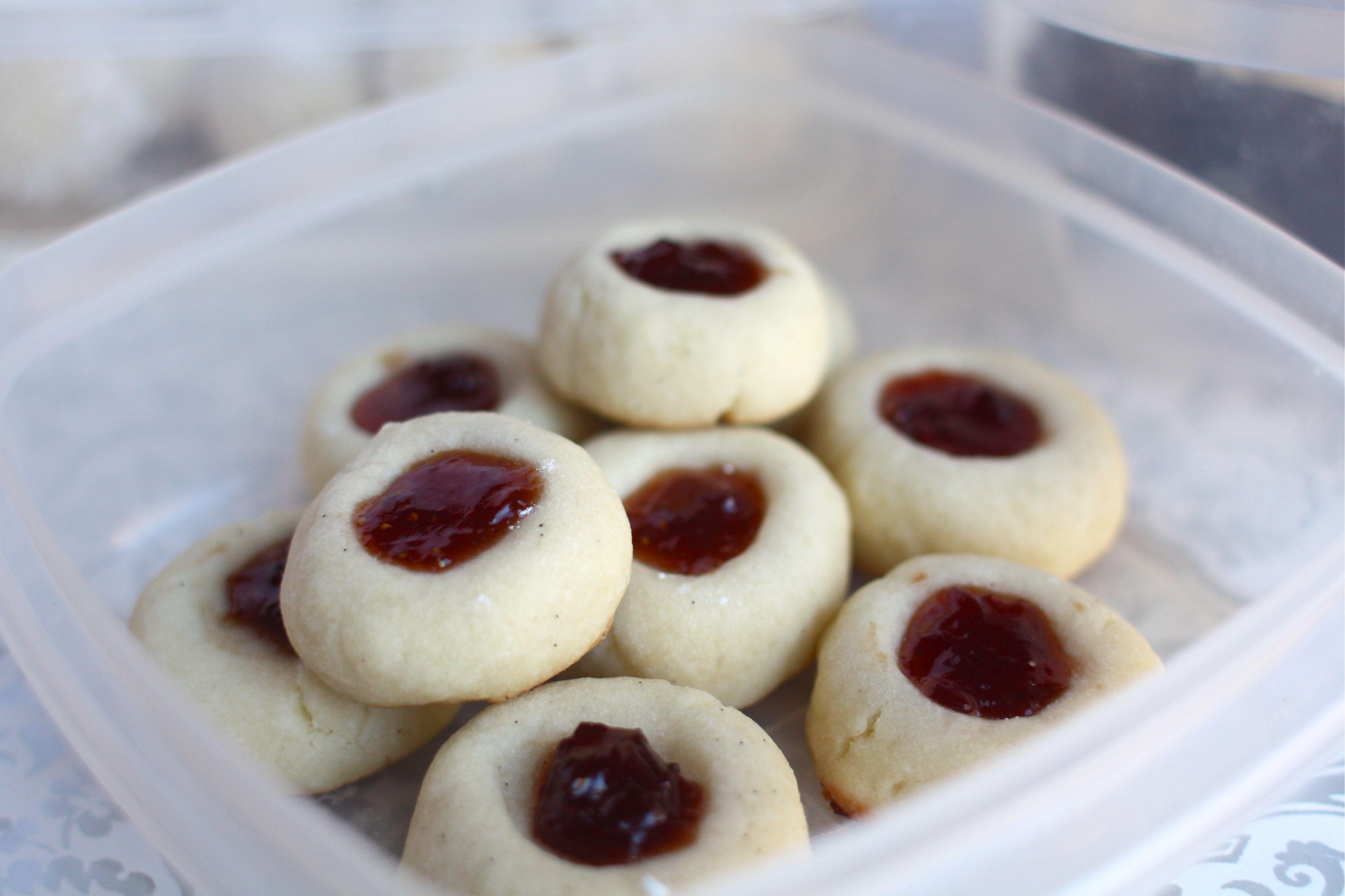 Shortbread Thumbprint Cookies  Simple Shortbread e Recipe Four Cookies