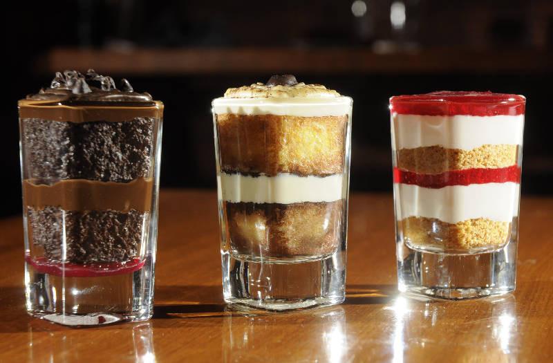 Shot Glass Desserts  20 Amazing Dessert Trends 2016 TheThings