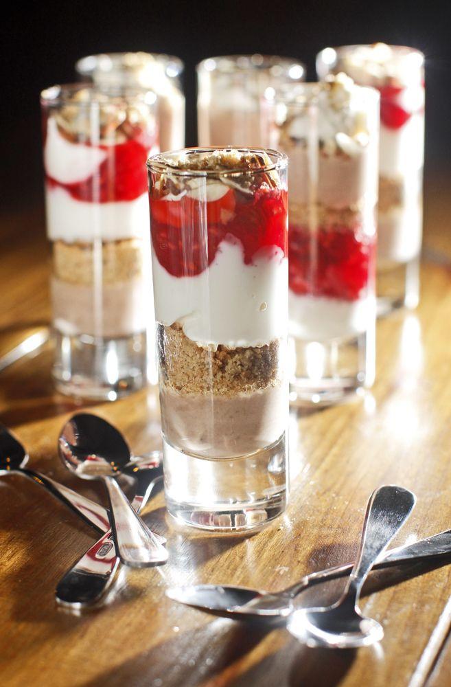 Shot Glasses Desserts Recipes  17 Best images about Shot Glass Recipes on Pinterest
