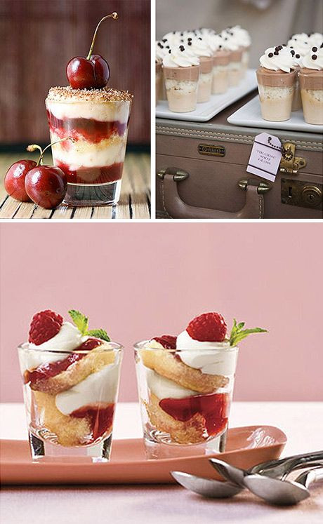 Shot Glasses Desserts Recipes  Shot glasses Deserts and Read more on Pinterest
