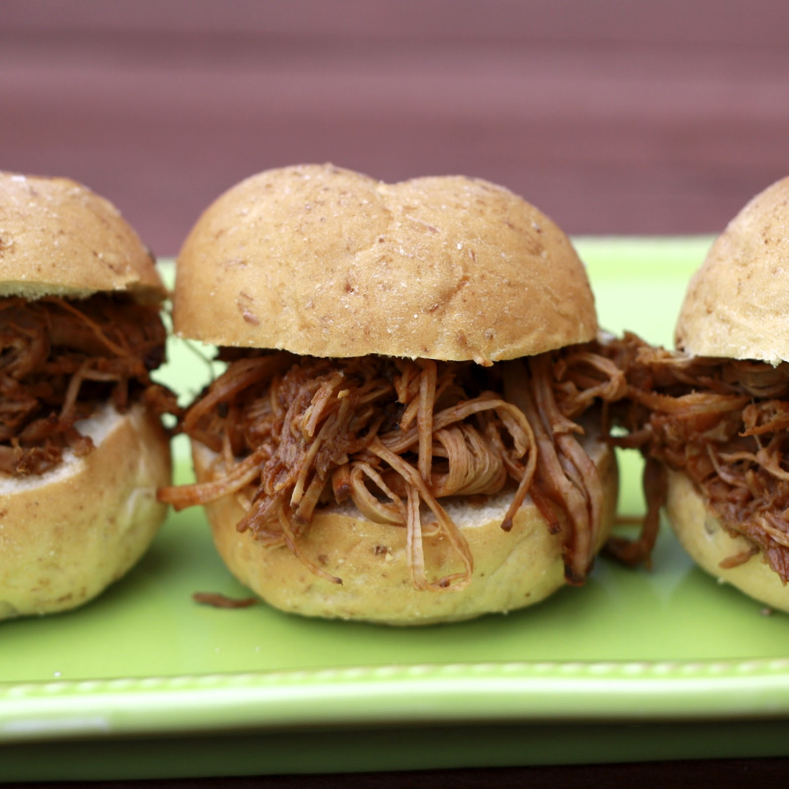 Shredded Beef Sandwiches  Slow Cooker Shredded Beef Sandwiches