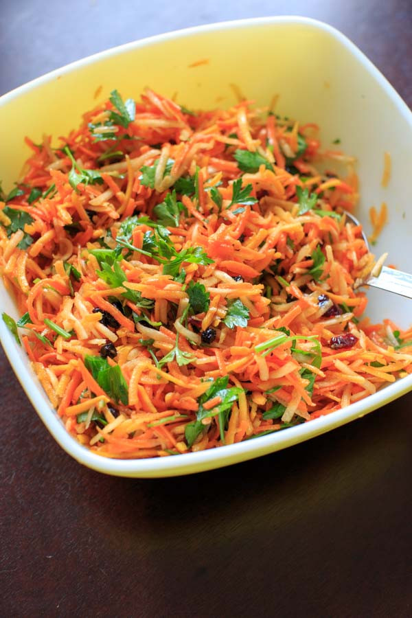 Shredded Carrot Salad  shredded carrot salad