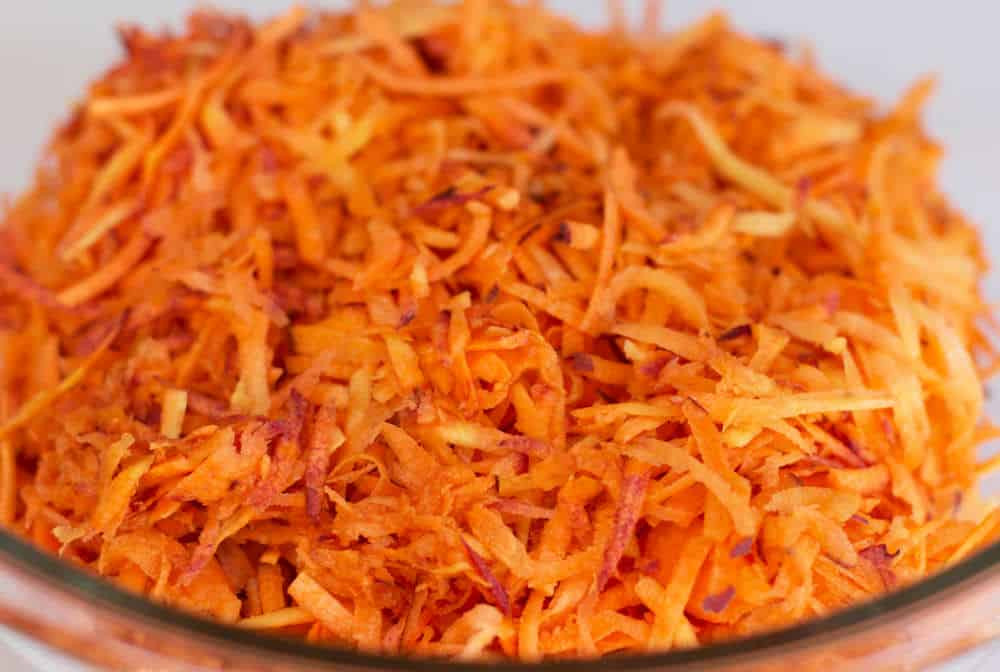 Shredded Carrot Salad  Moroccan shredded carrot salad
