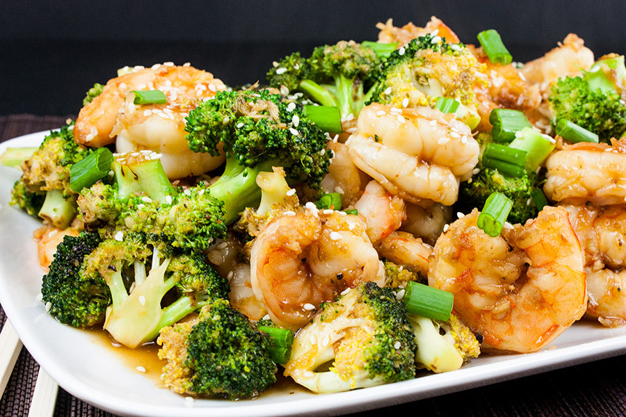 Shrimp And Broccoli  Shrimp and Broccoli Stir Fry Don t Sweat The Recipe