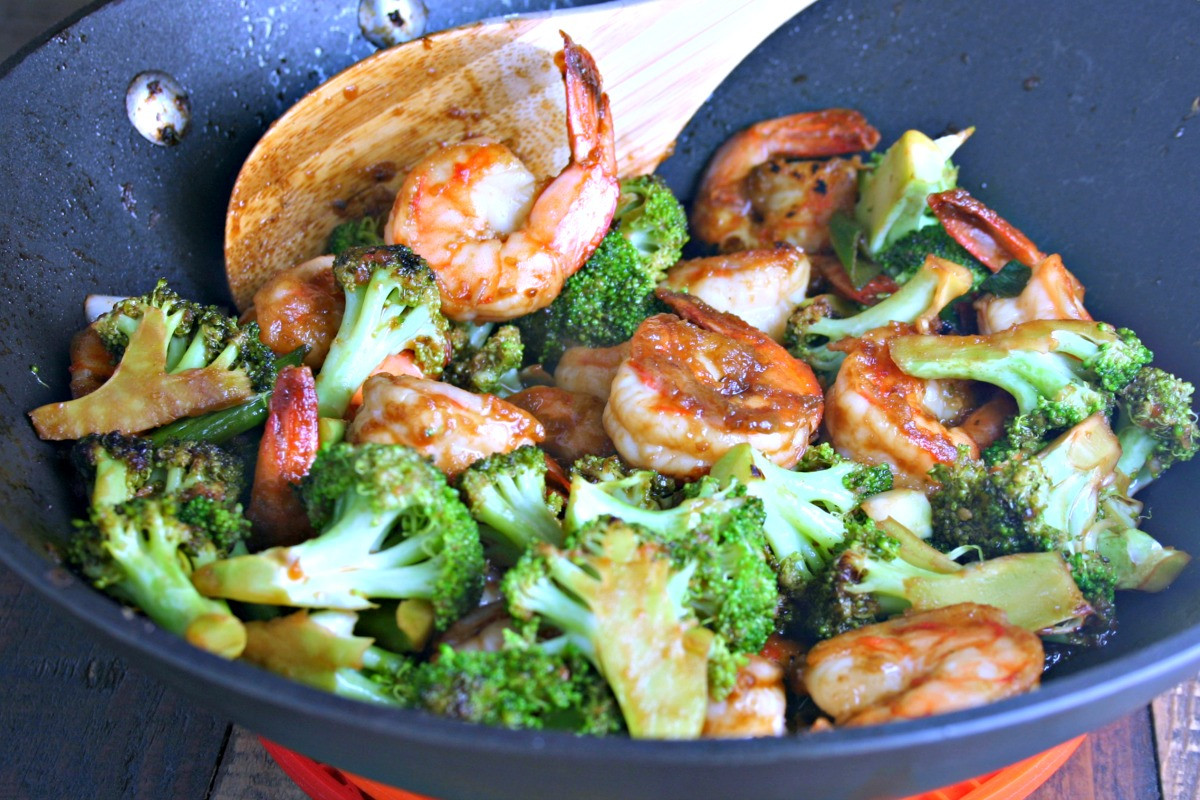 Shrimp And Broccoli  Chinese Shrimp and Broccoli Stir Fry The Weary Chef