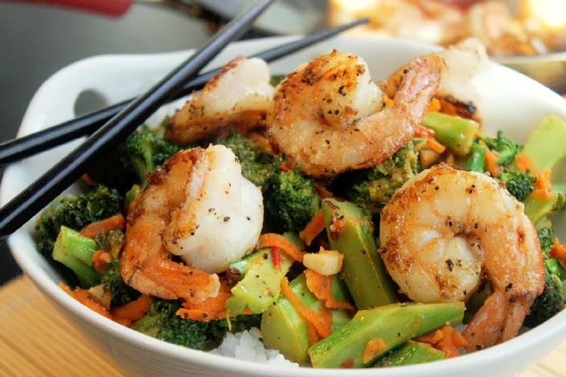 Shrimp And Broccoli  Thai Shrimp and Broccoli Creole Contessa