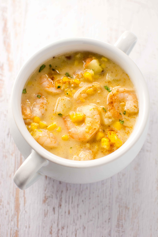 Shrimp And Corn Soup  Slow Cooker Cajun Corn and Shrimp Chowder Slow Cooker