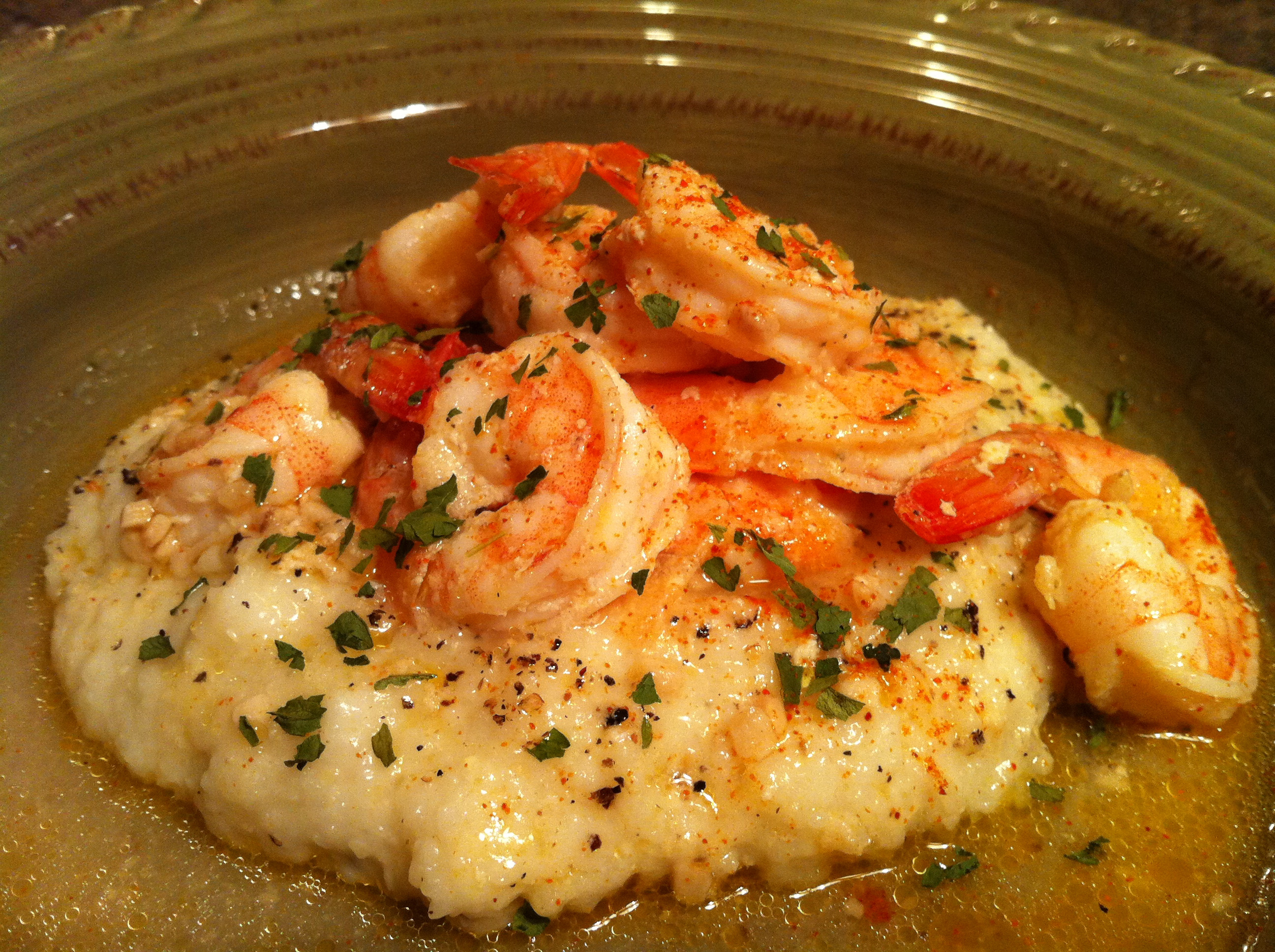 Shrimp And Grits Recipes  Cajun Shrimp and Grits