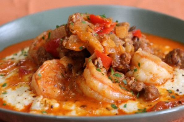 Shrimp And Grits Recipes  Voodoo Shrimp and Grits Silk Road Diary
