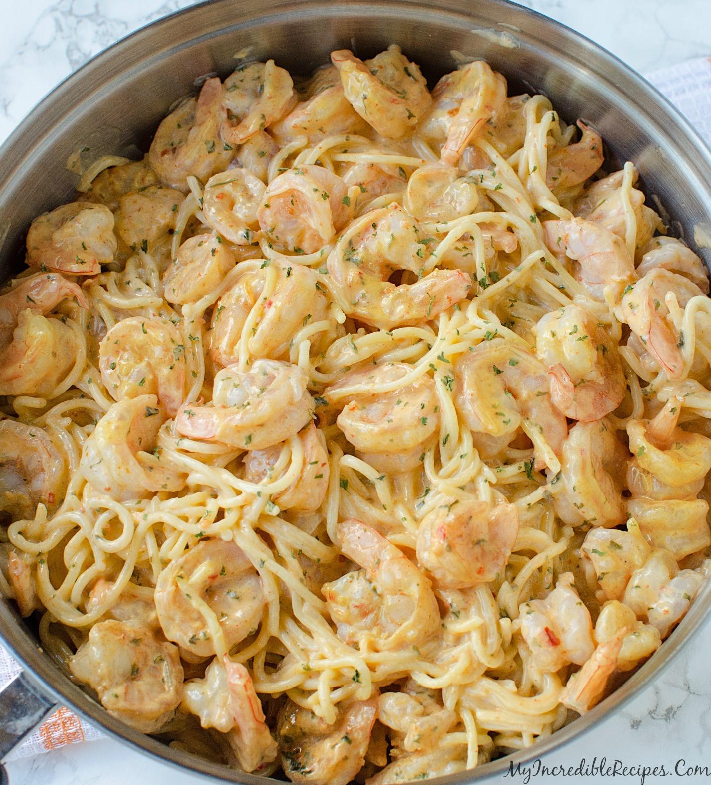 Shrimp And Pasta Dishes  Bang Bang Shrimp Pasta