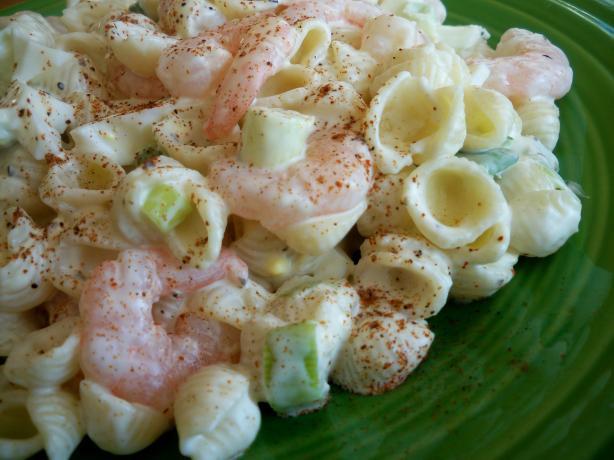 Shrimp And Pasta Salad  Shrimp Pasta Salad Recipe Food