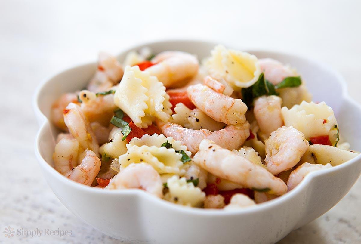 Shrimp And Pasta Salad  Shrimp Pasta Salad Recipe