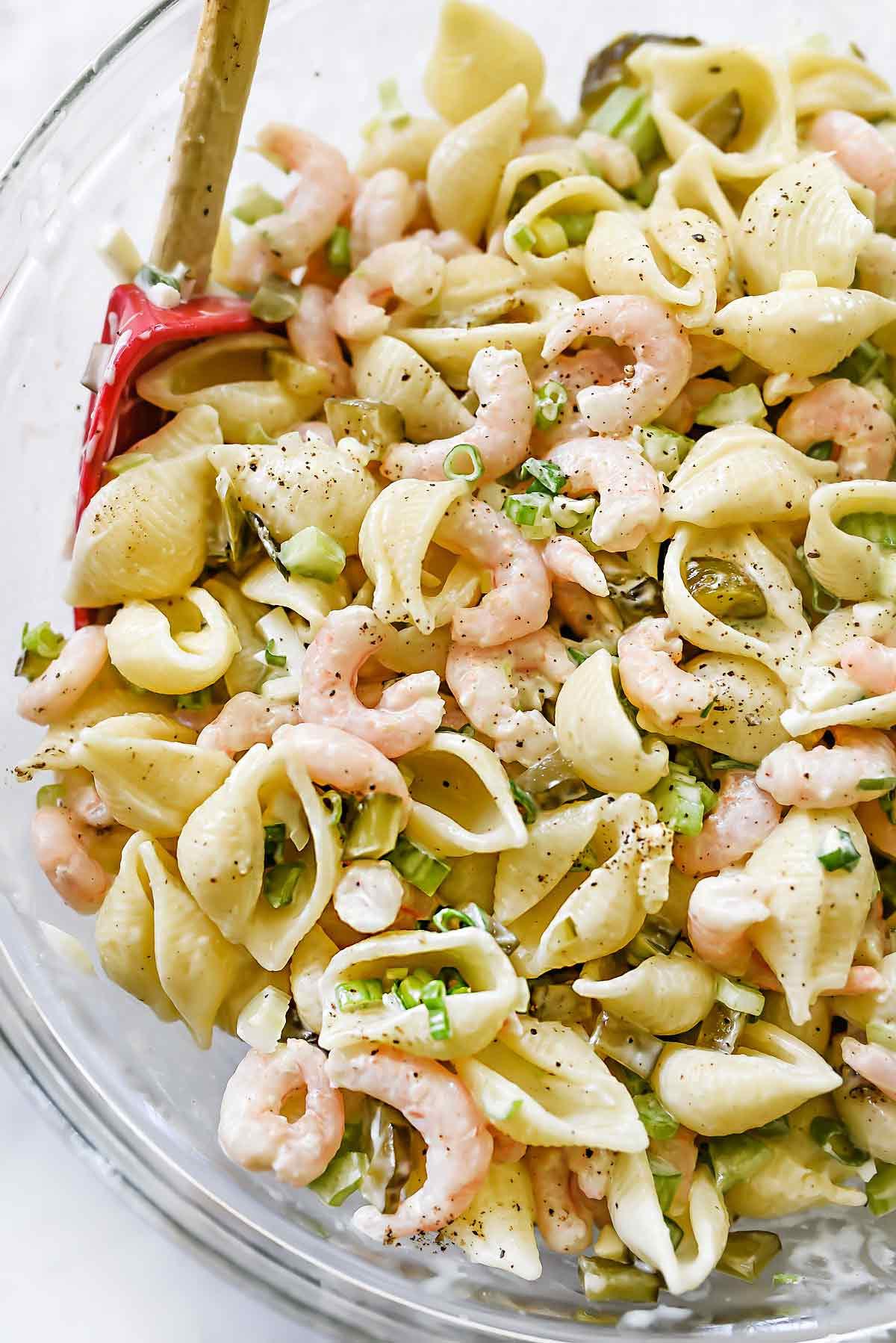 Shrimp And Pasta Salad  Shrimp and Macaroni Salad Recipe