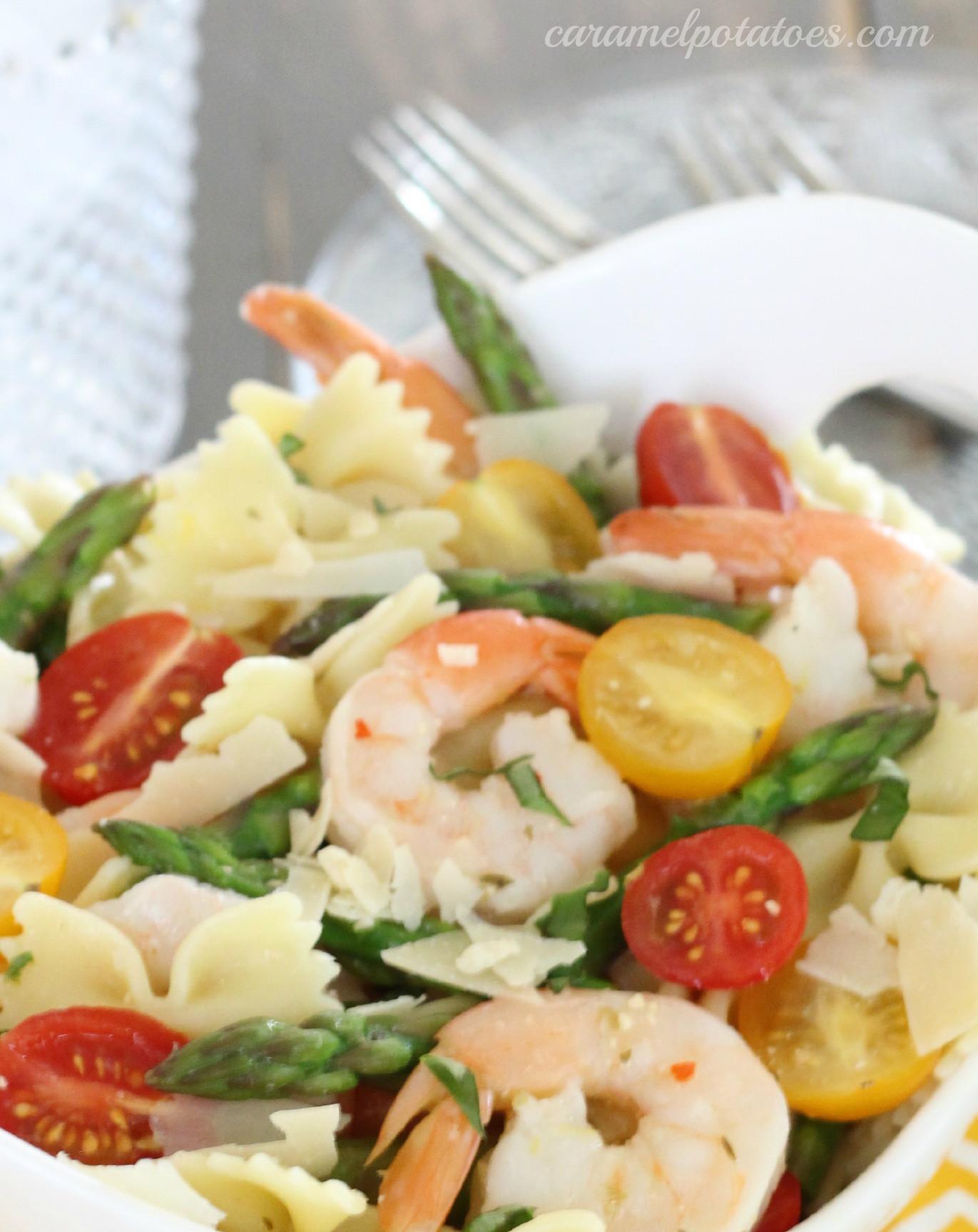 Shrimp And Pasta Salad  Caramel Potatoes Search Results Shrimp pasta salad