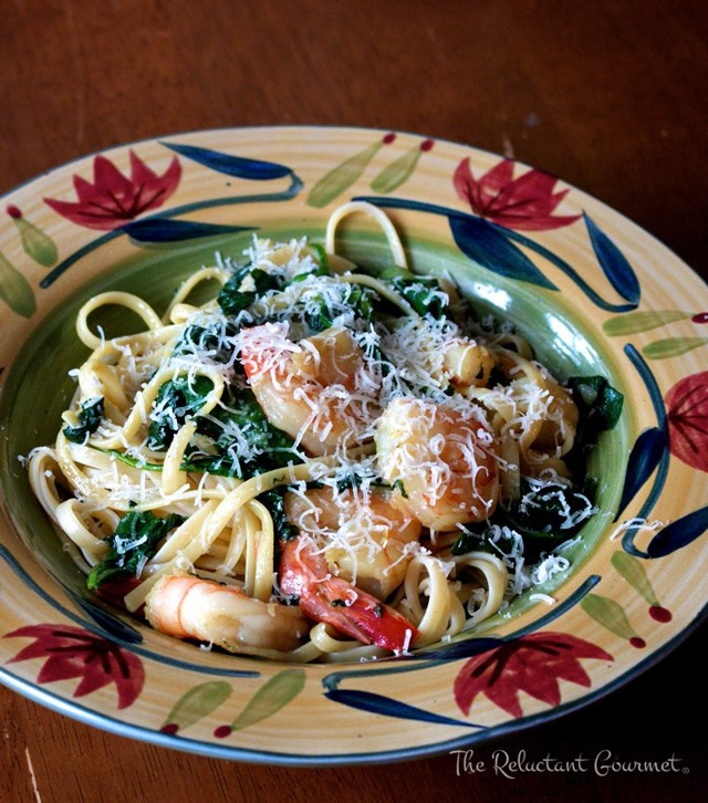 Shrimp And Spinach Pasta  A Simple and Fast Recipe for Pasta with Shrimp and Spinach