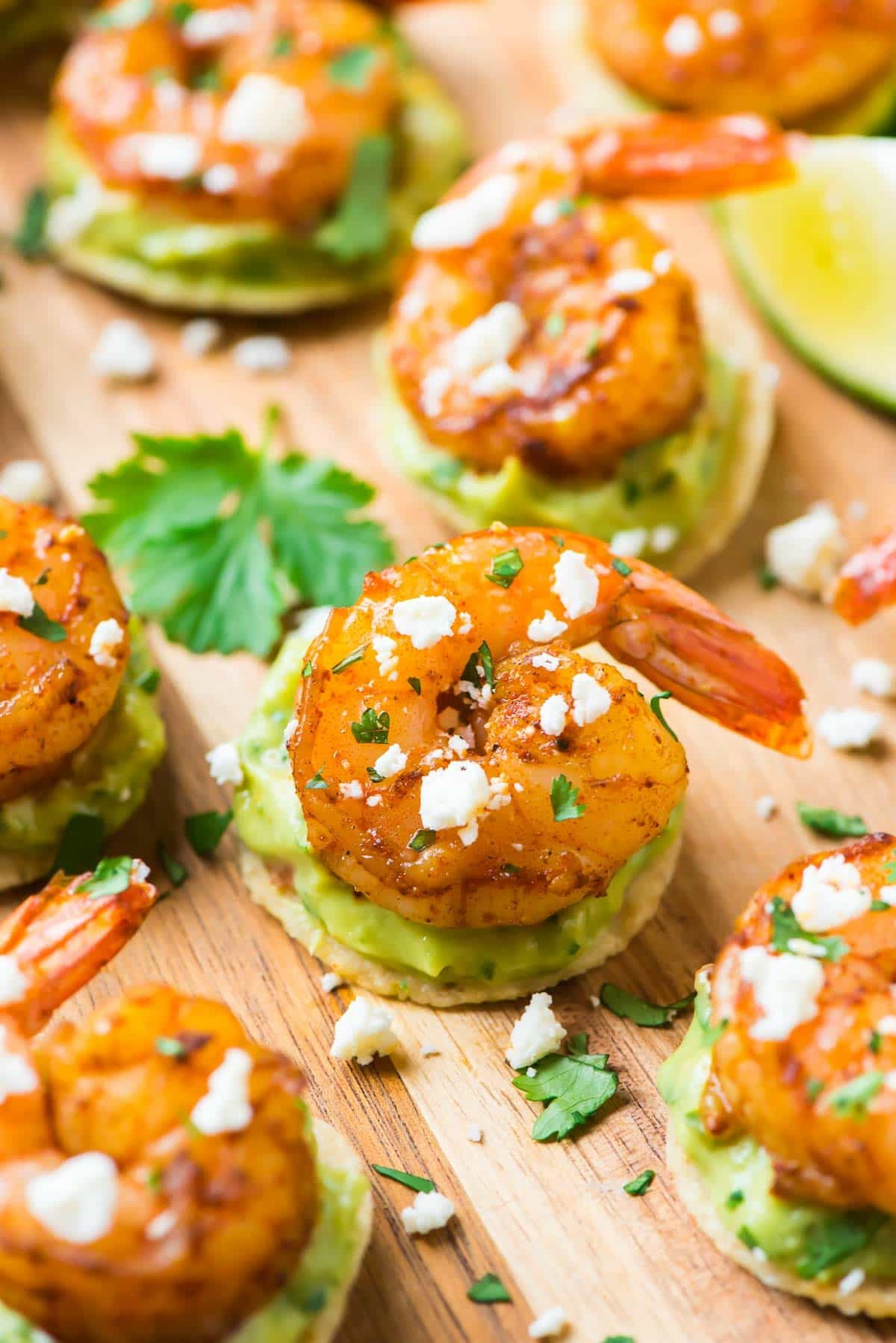 Shrimp Appetizer Recipes  Shrimp Guacamole Bites