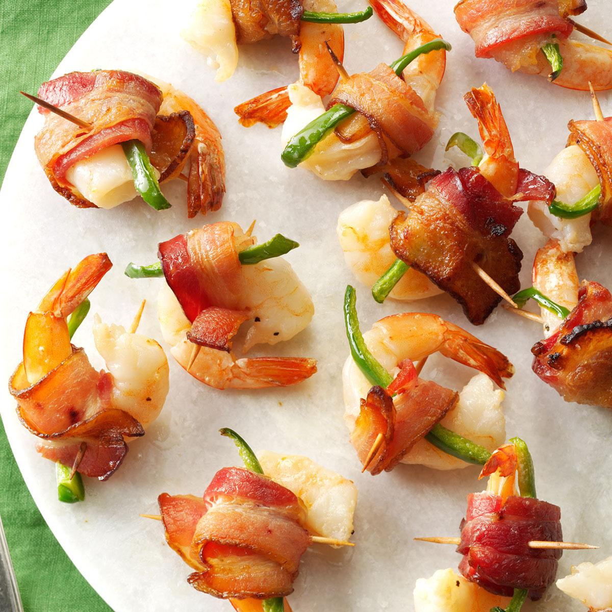 Shrimp Appetizer Recipes  Bacon Wrapped Shrimp Recipe