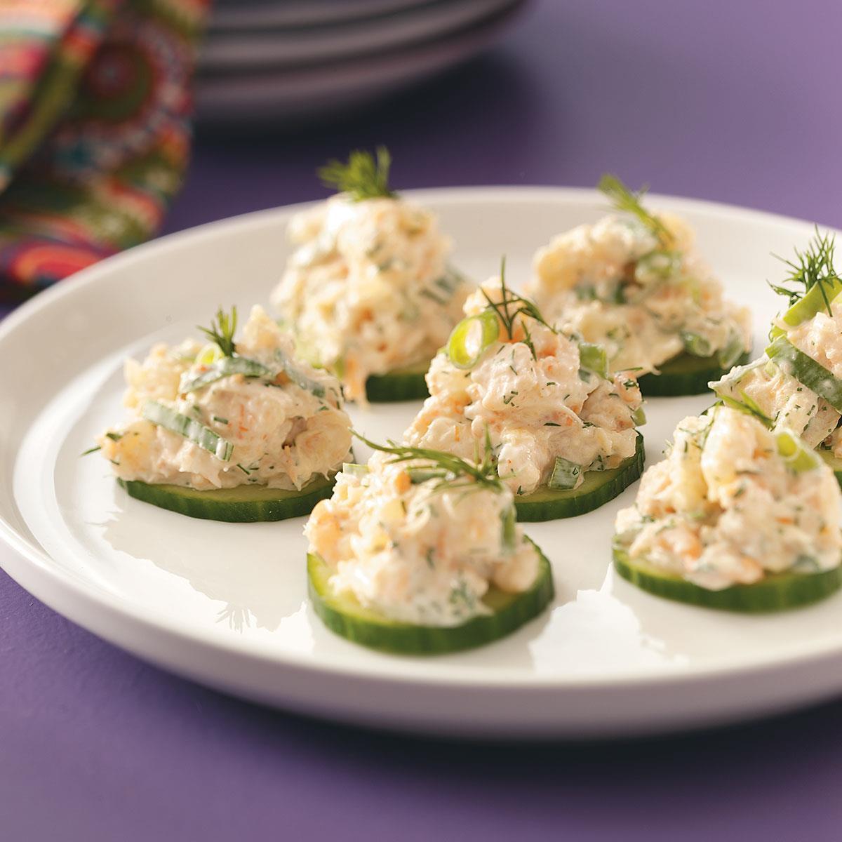 Shrimp Appetizer Recipes  Cucumber Shrimp Appetizers Recipe