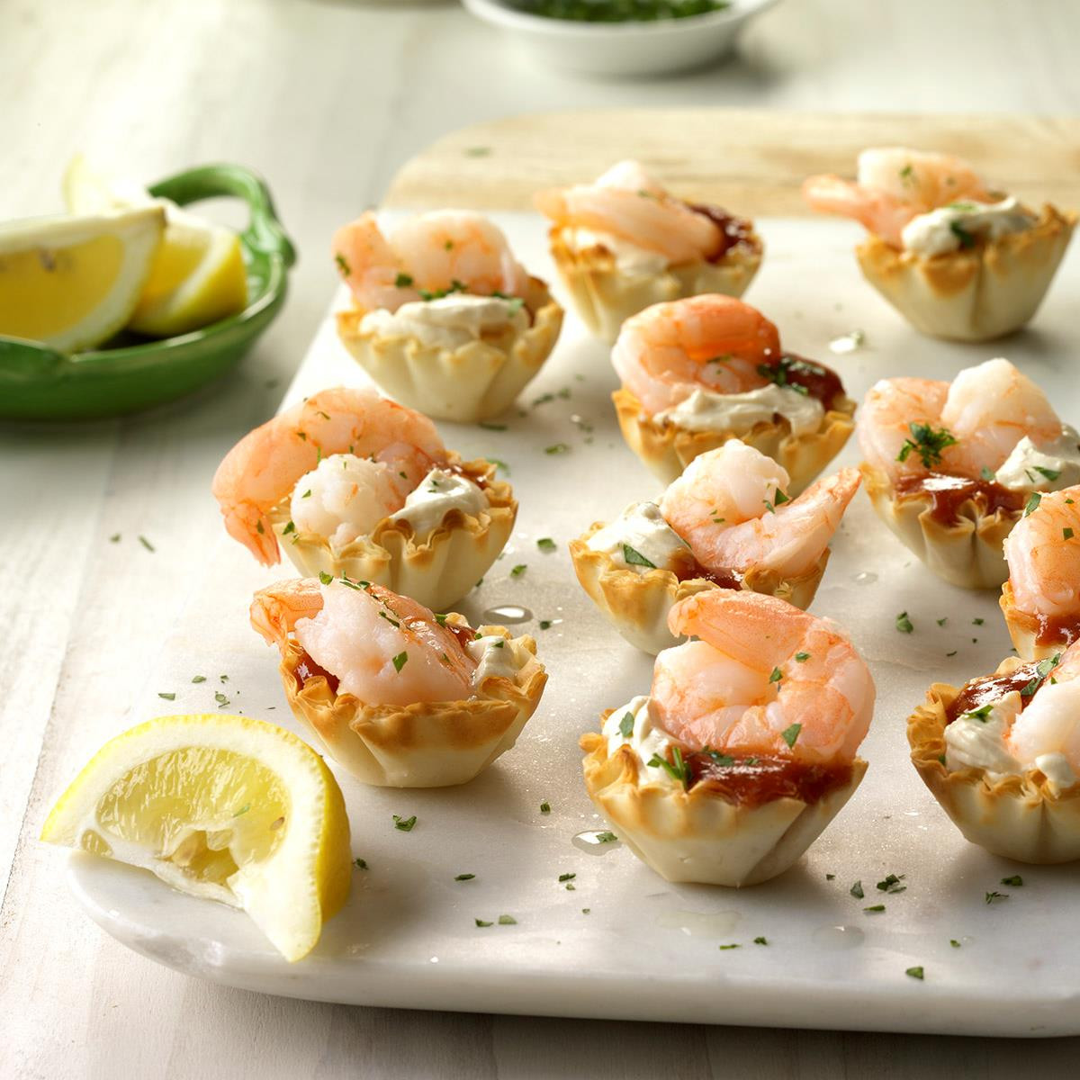 Shrimp Appetizer Recipes  Shrimp Tartlets Recipe