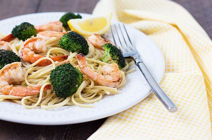Shrimp Broccoli Pasta  Lemon Broccoli Shrimp Pasta