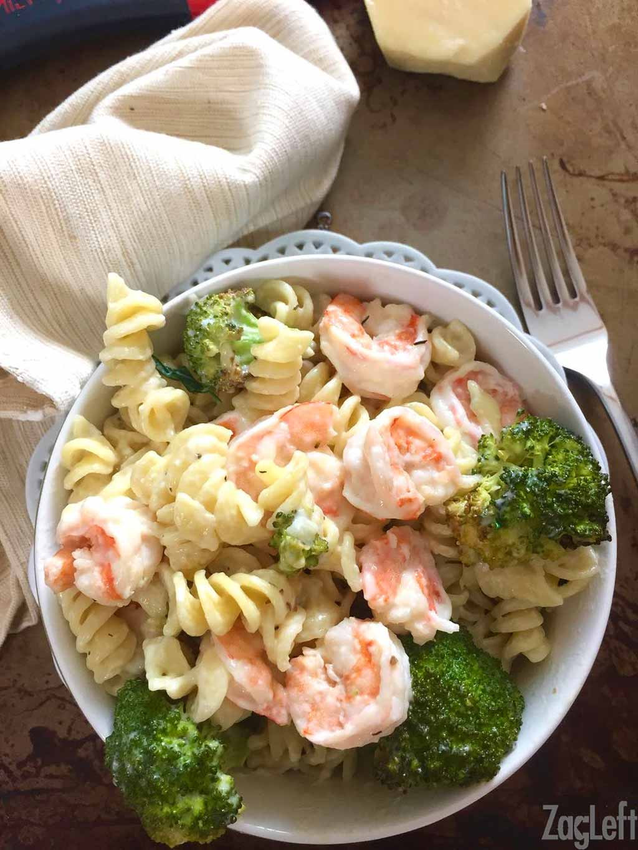 Shrimp Broccoli Pasta  Roasted Broccoli and Garlic Shrimp Pasta ZagLeft