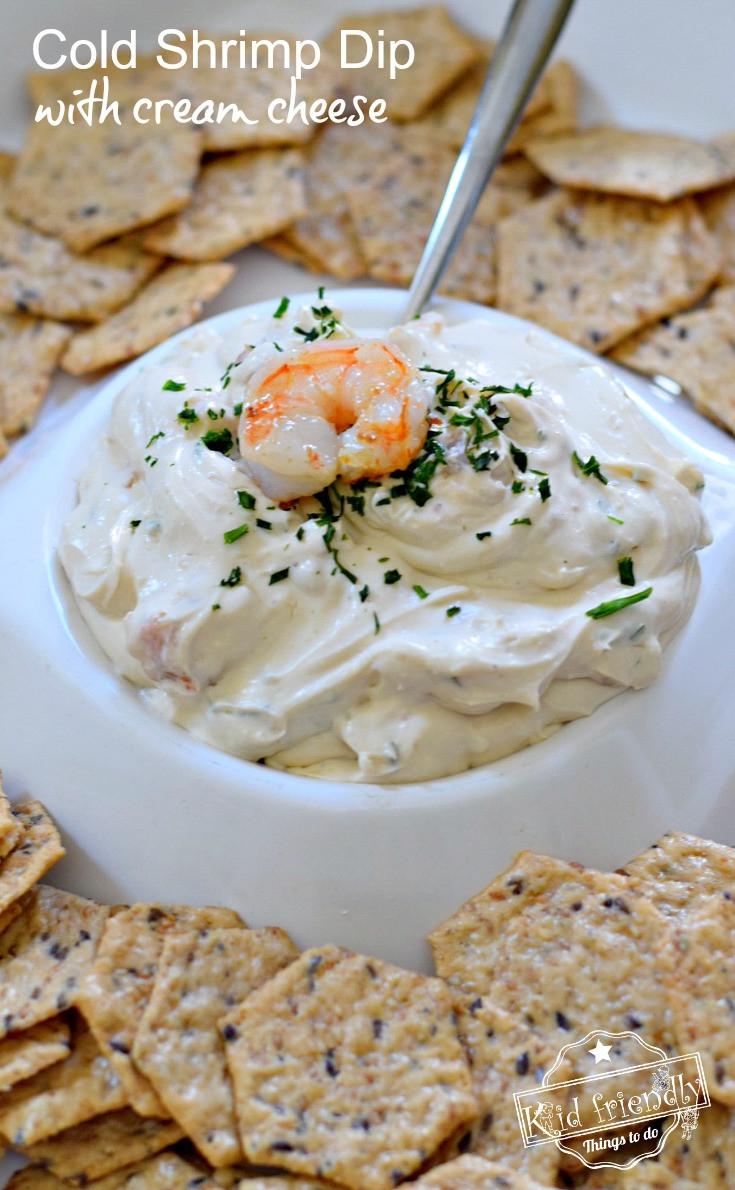Shrimp Dip Recipes  The Best Cold Shrimp Dip Recipe With Cream Cheese