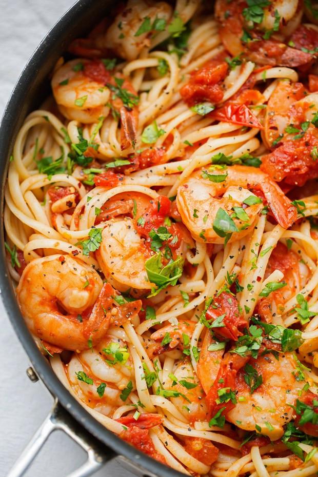Shrimp Pasta Recipes Red Sauce  21 Filling Pasta Recipes for Tonight s Dinner