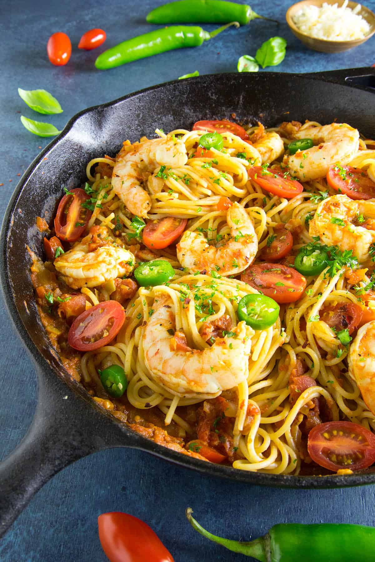 Shrimp Pasta Recipes Red Sauce  Cajun Shrimp Pasta with Red Sauce Recipe Chili Pepper