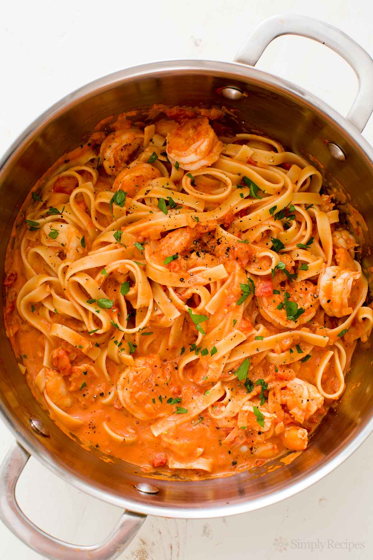 Shrimp Recipes Pasta  Shrimp Pasta alla Vodka Recipe with video