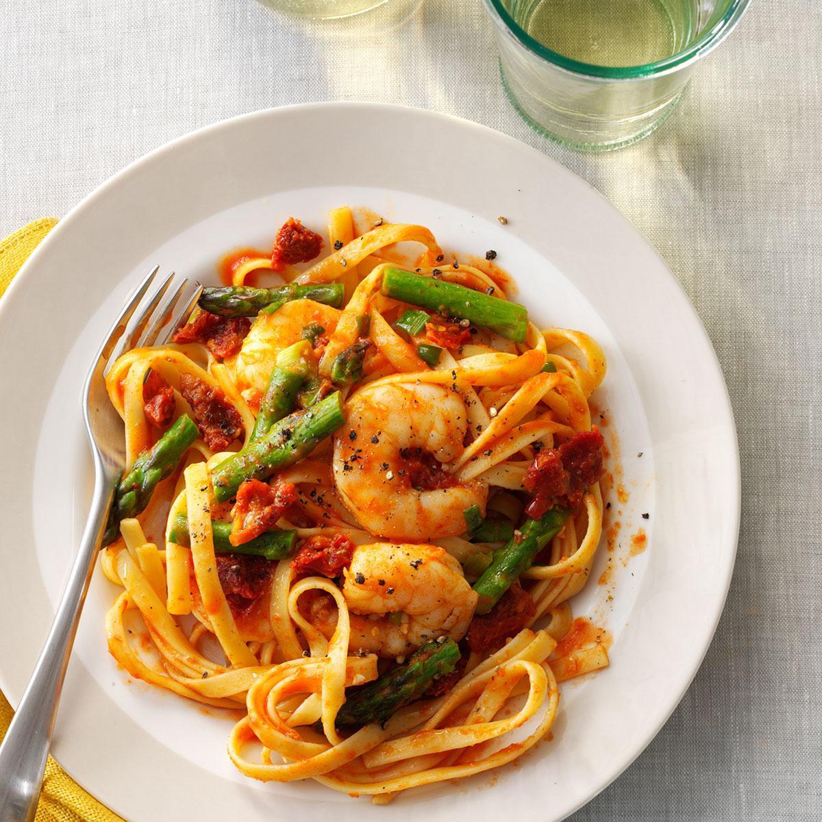 Shrimp Recipes With Pasta  Mediterranean Shrimp n Pasta Recipe