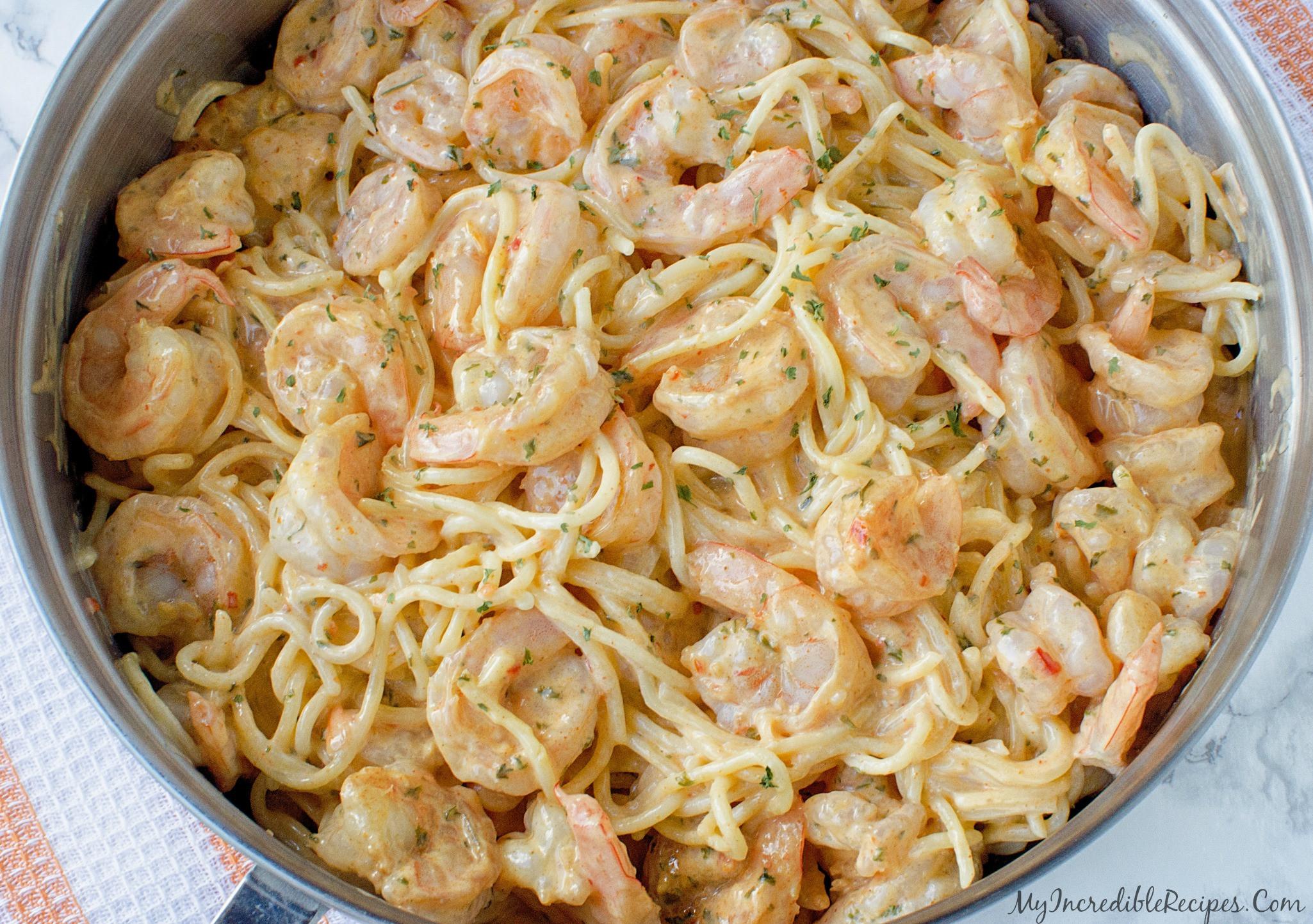 Shrimp Recipes With Pasta  Bang Bang Shrimp Pasta