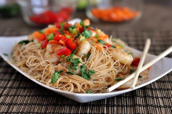 Shrimp Rice Noodles  Hoisin Rice Noodles with Shrimp