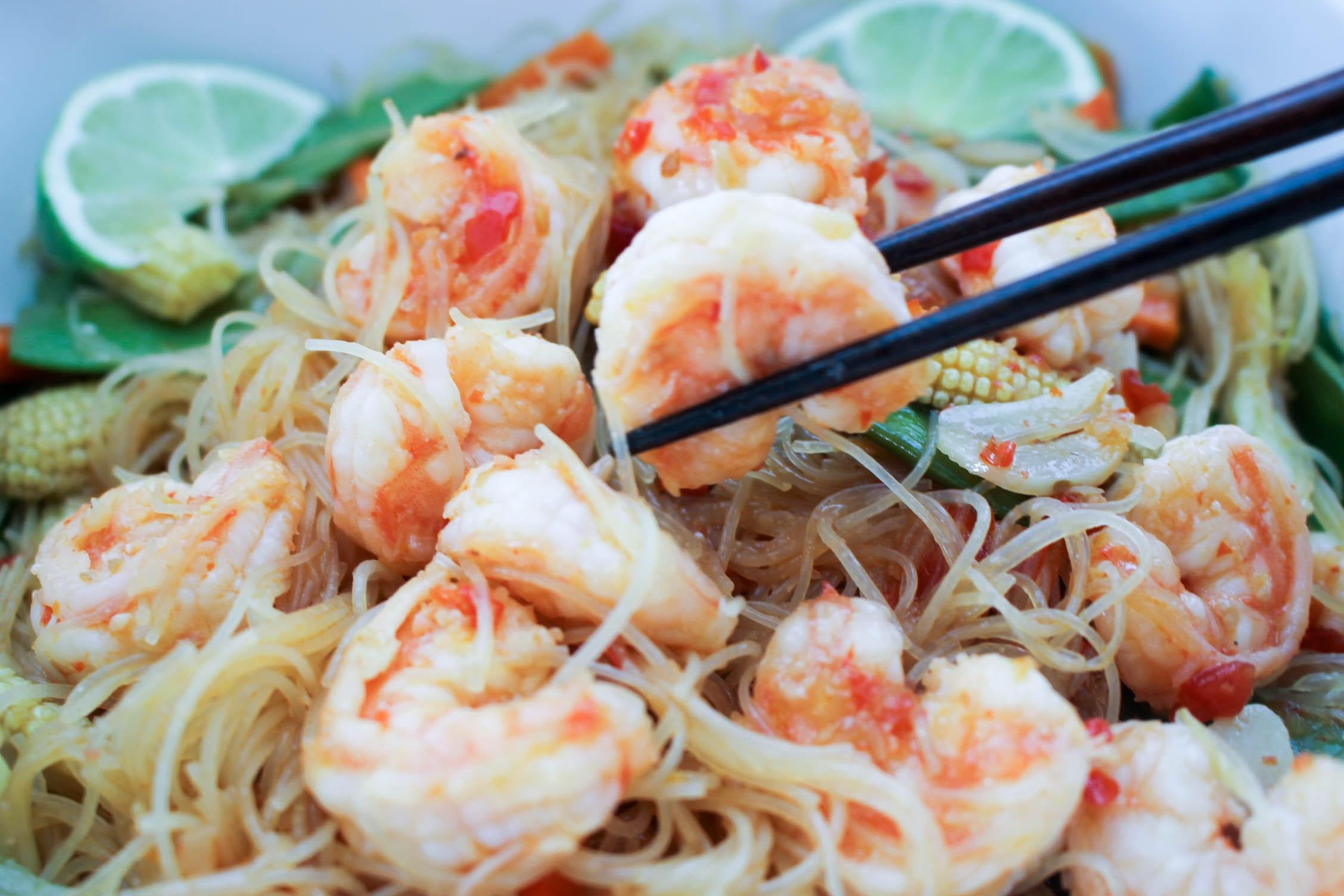 Shrimp Rice Noodles  Shrimp Rice Noodles