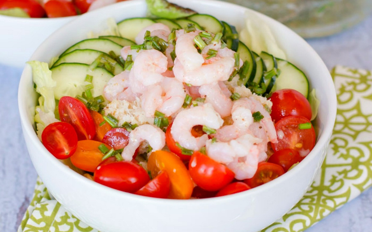 Shrimp Salad Dressing  15 Seafood Salad Recipes to Eat Right the Delicious Way