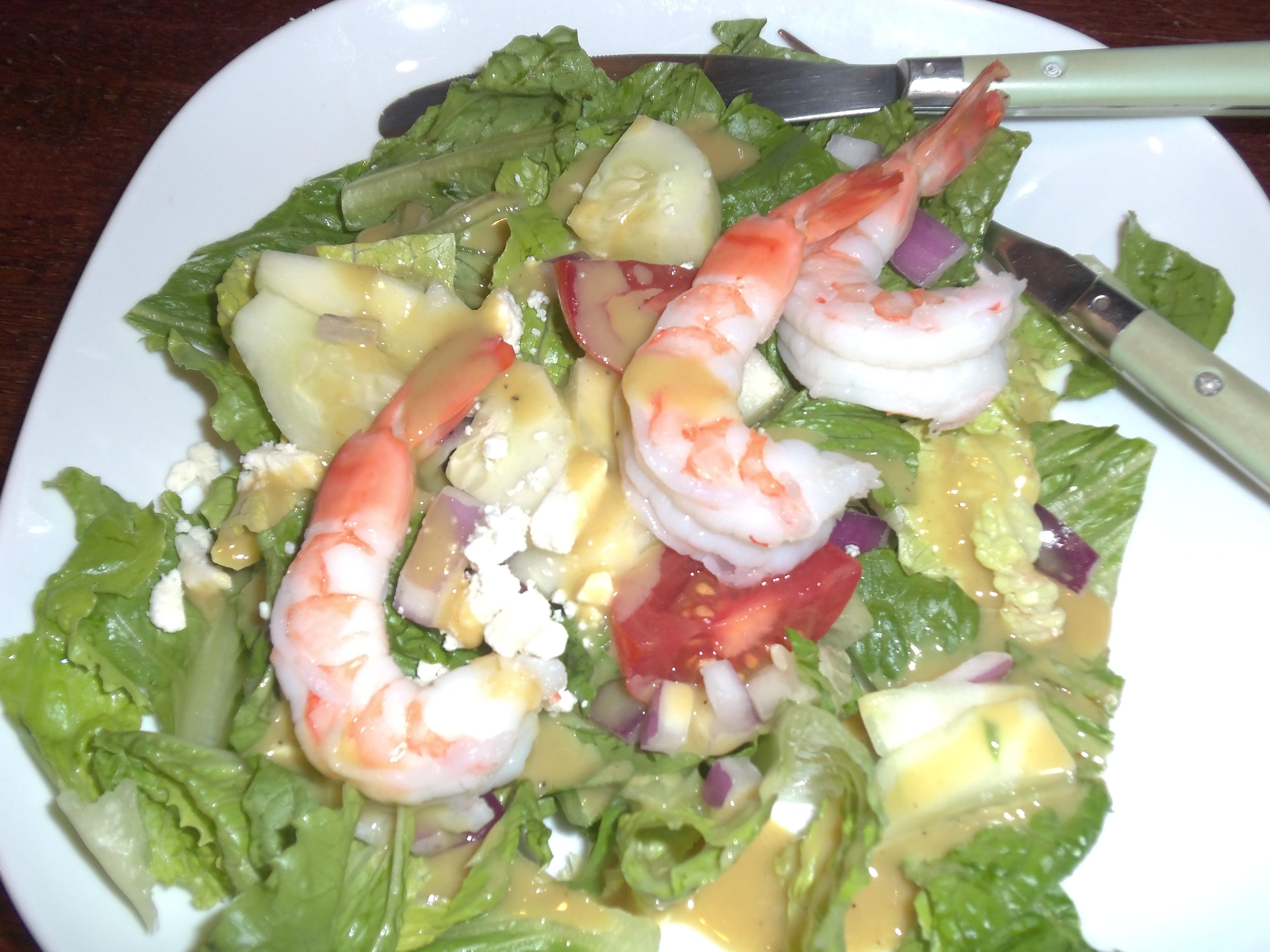 Shrimp Salad Dressing  Shrimp Salad with Omega 3 Honey Mustard Dressing