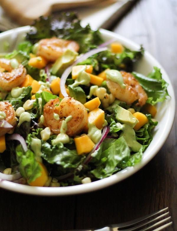 Shrimp Salad Dressing  avocado shrimp salad dressing
