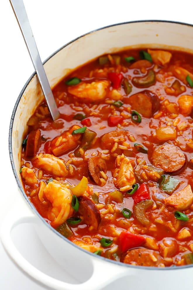 Shrimp Soup Recipes  jambalaya soup