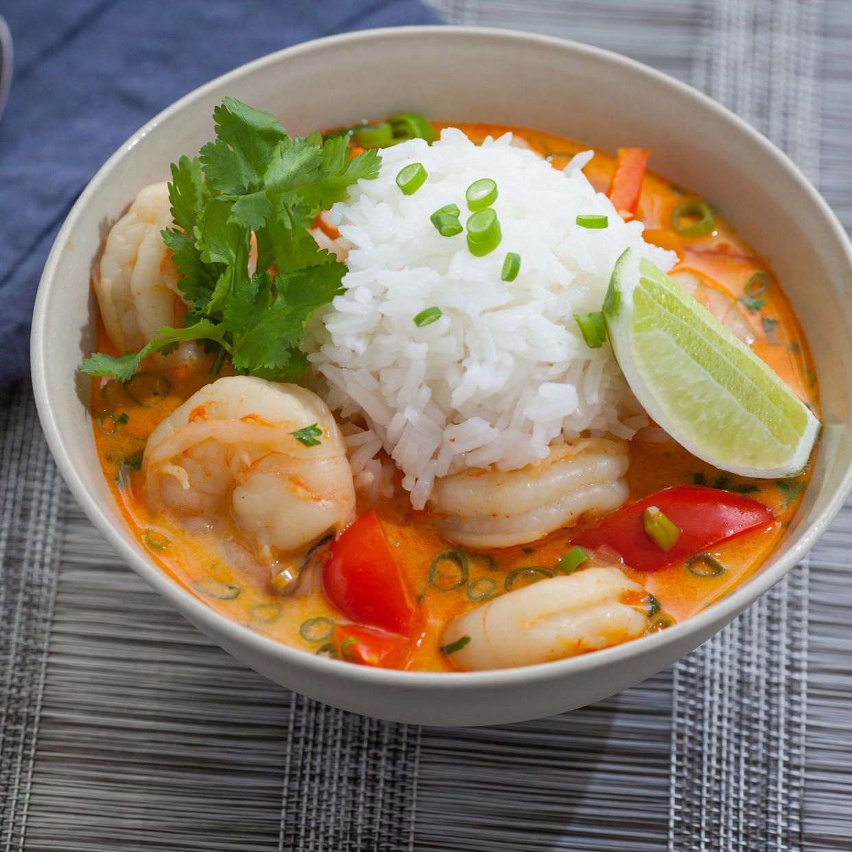 Shrimp Soup Recipes  Recipe Thai Shrimp Soup with Coconut Lemongrass & Red