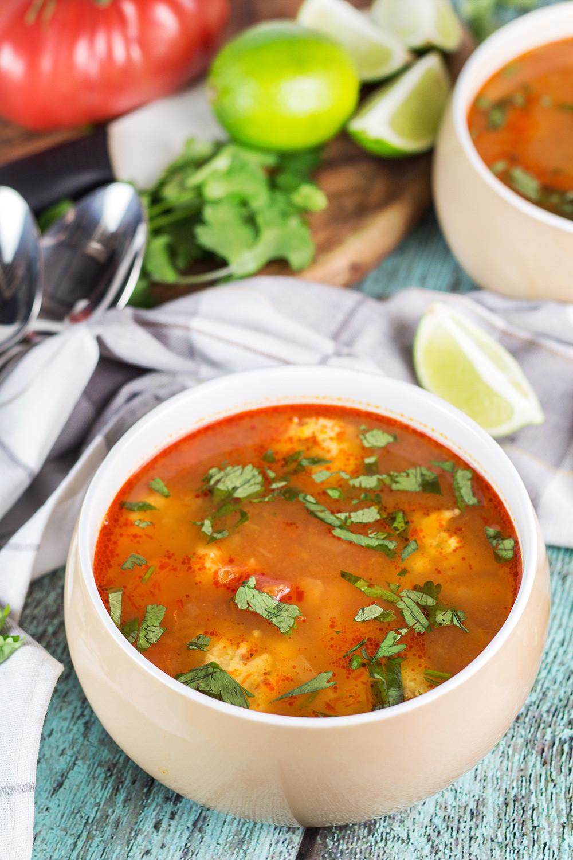 Shrimp Soup Recipes  Mexican Shrimp Soup Albóndigas de Camarón Cooking The