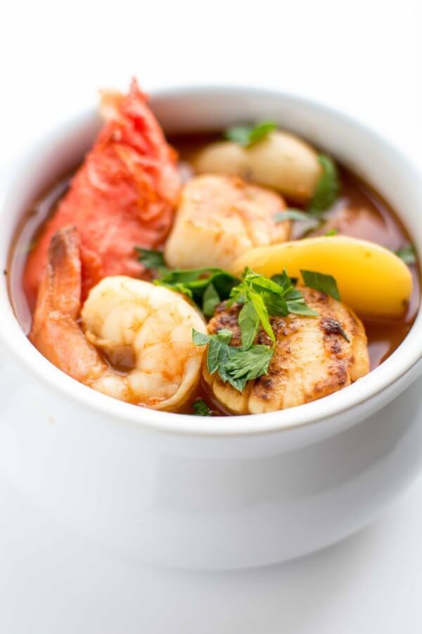 Shrimp Stew Recipe  Crockpot Seafood Stew Slow Cooker Gourmet