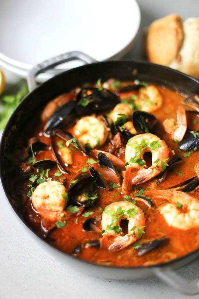 Shrimp Stew Recipe  Summer Seafood Stew
