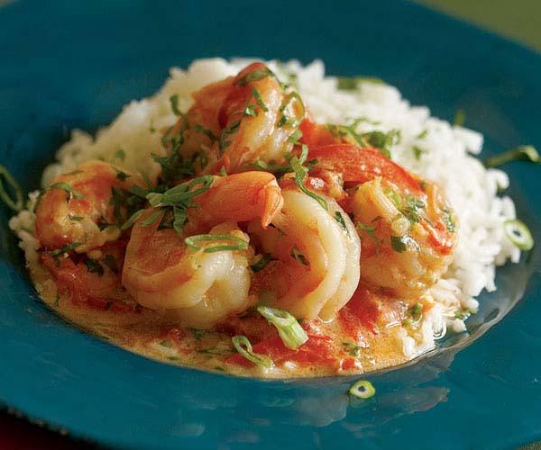 Shrimp Stew Recipe  Shrimp Stew with Coconut Milk Tomatoes & Cilantro