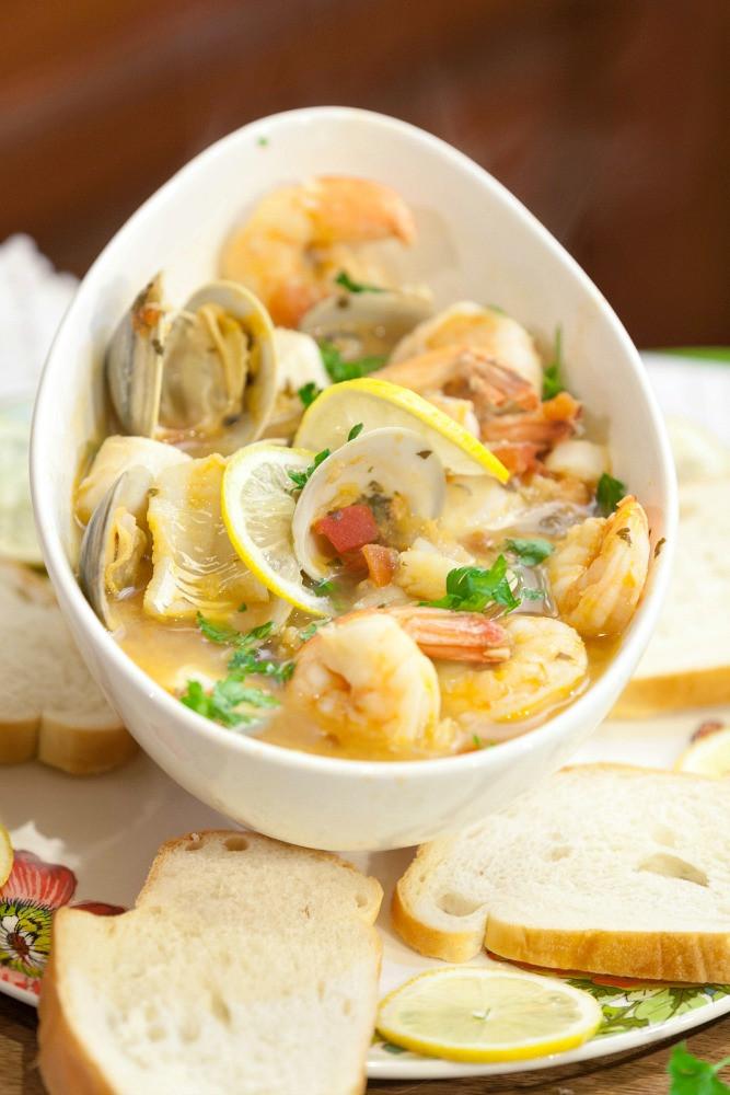 Shrimp Stew Recipe  Tuscan Seafood Stew Food Done Light